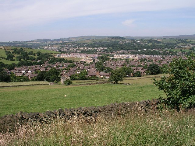 Shirebrook Park & Glossop from Derbyshire Level