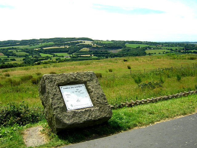 View Point at Parbold Hill