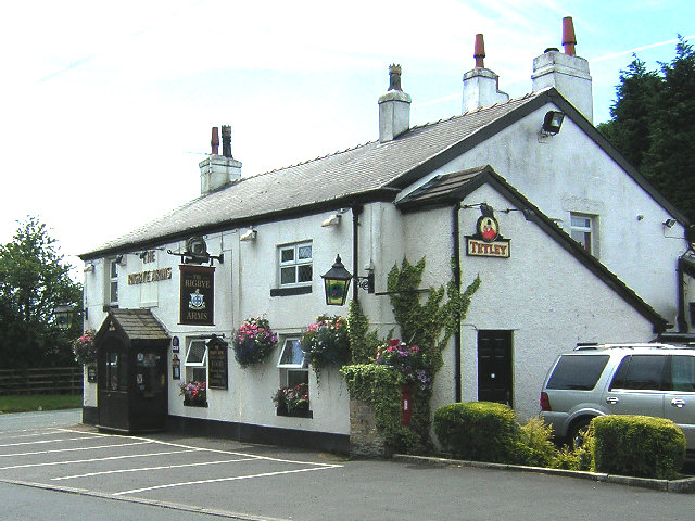 The Rigbye Arms at High Moor, Wrightington