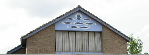 Decoration on St Andrews Church Hall