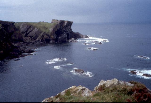The cliffs at Uragaig