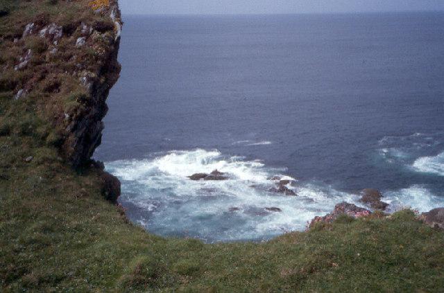 Cliffs at Uragaig