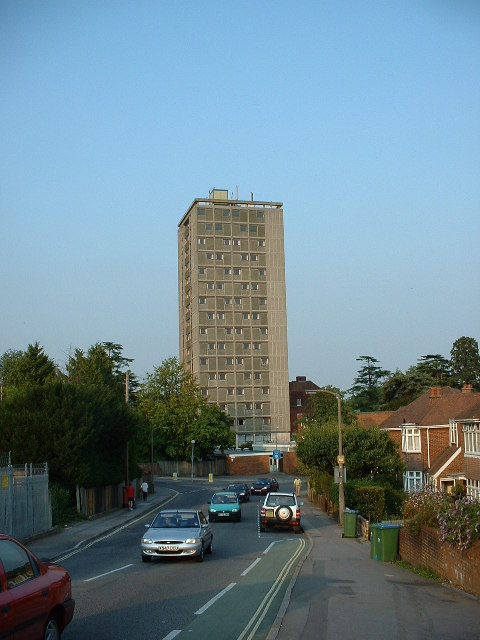 High-rise student flats, Southampton