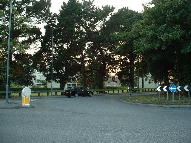 Roundabout, Townhill Park, Southampton