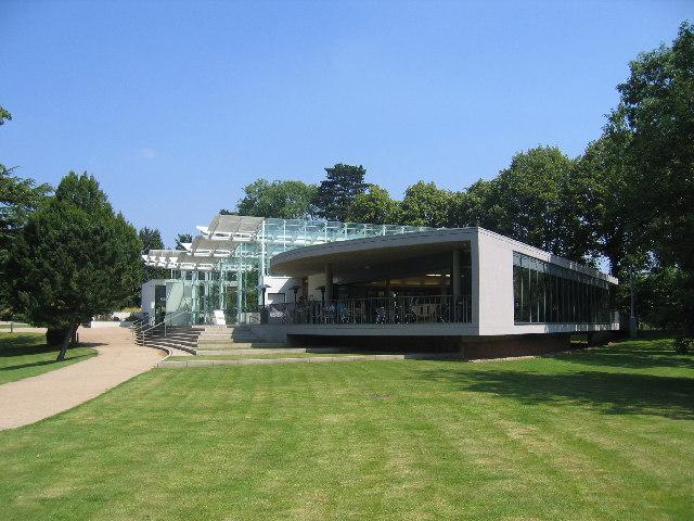 Hot house and Riverside Restaurant, Royal Leamington Spa