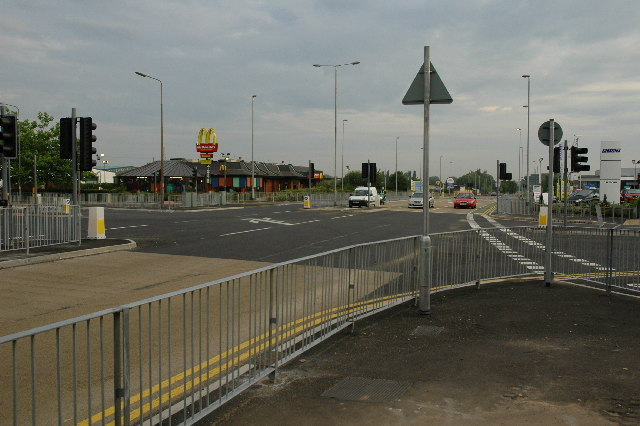 Junction on A49