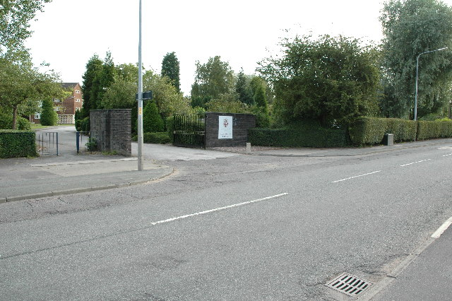 Entrance to Padgate College