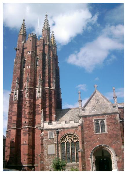St. Mary's church, Totnes