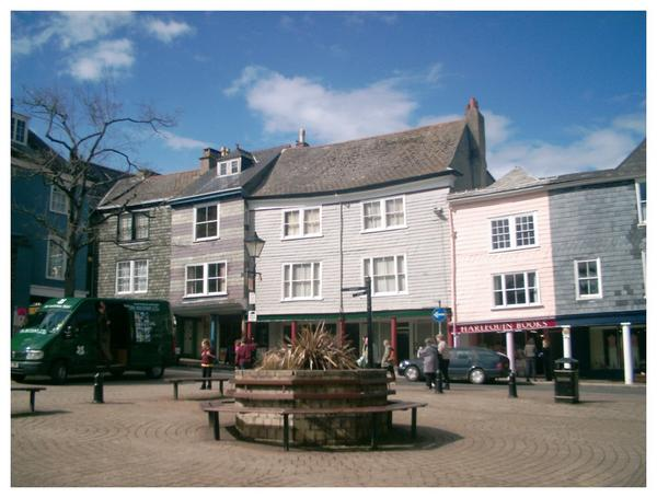 Butterwalk, High street, Totnes