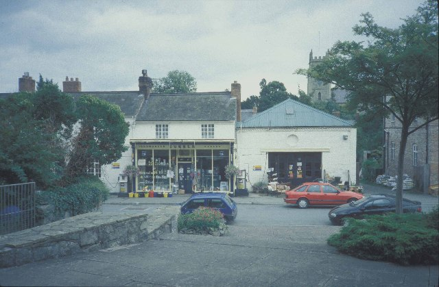 Ironmonger and filling station in Montgomery