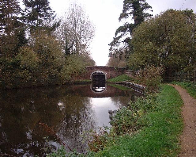 Canal bridge at Marsh Benham