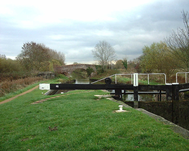 Benham Lock, Kennet and Avon canal