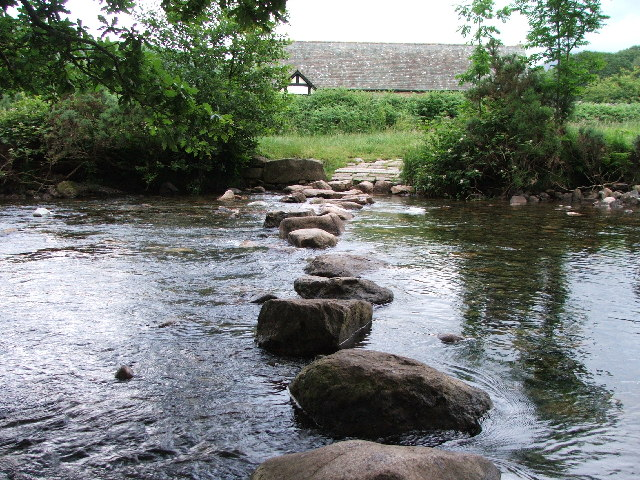 Stepping stones to church