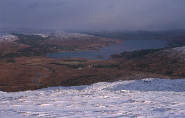 Loch Tulla from Meall Tairbh.