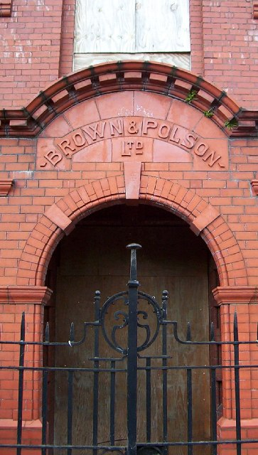 "Former ""Brown & Polson"" Admin Building, Paisley"