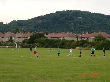 Football at Abergele