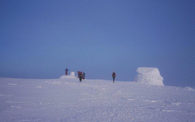 Ben Nevis, The summit