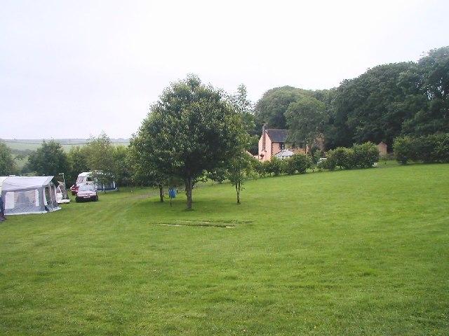Caravans at Trevellan Farm, Shortlanesend, Truro