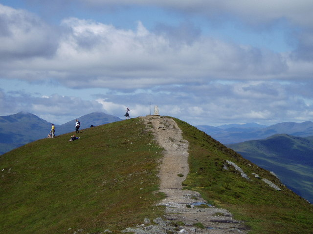 Summit of Ben Vorlich