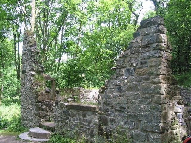 Ruin in Lathkill Dale