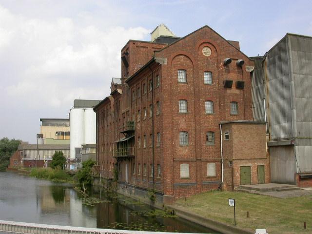 Flour Mills and Storage Silos