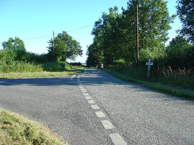 Road Junction near Wimland Farm, Faygate, West Sussex