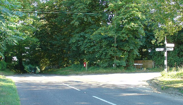 Road Junction, Near Carylls Lea, Faygate, West Sussex