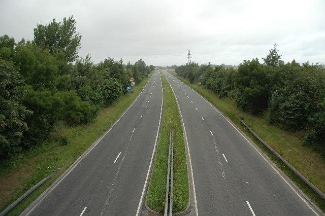 A49, Winwick, near Warrington