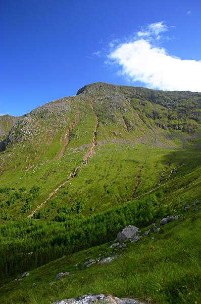 North ridge of Sgorr Dhearg