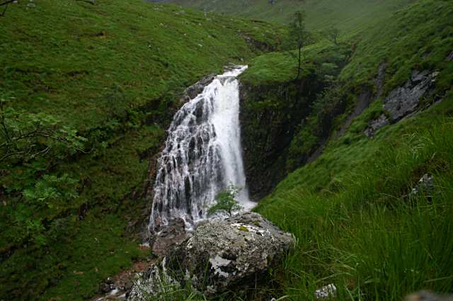 Waterfall in Coire Laoghan