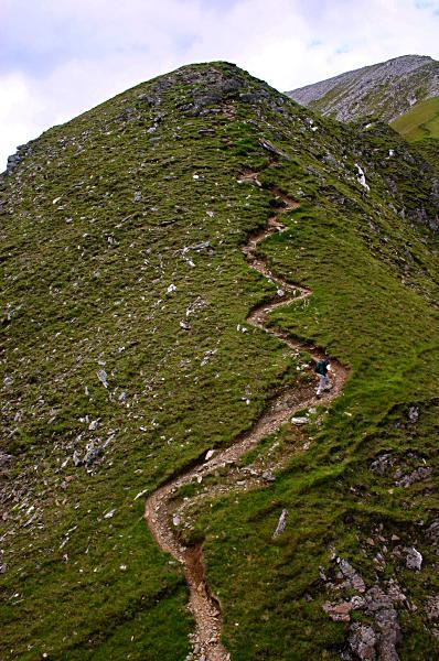 South ridge of Sgùrr a' Mhàim