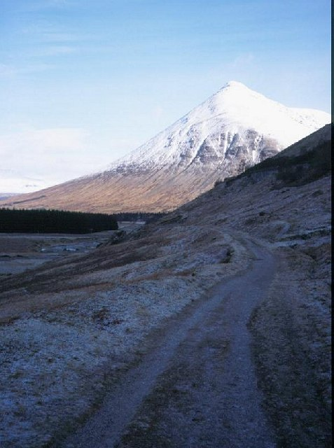 The old road to Lochaber.