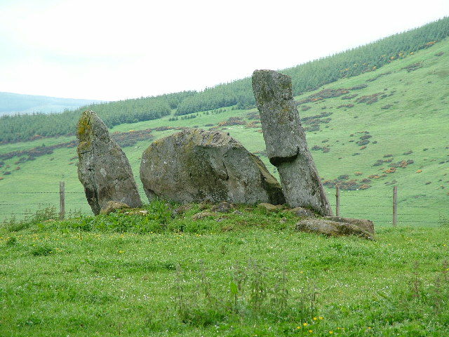 Stone Circle near Whitebrow