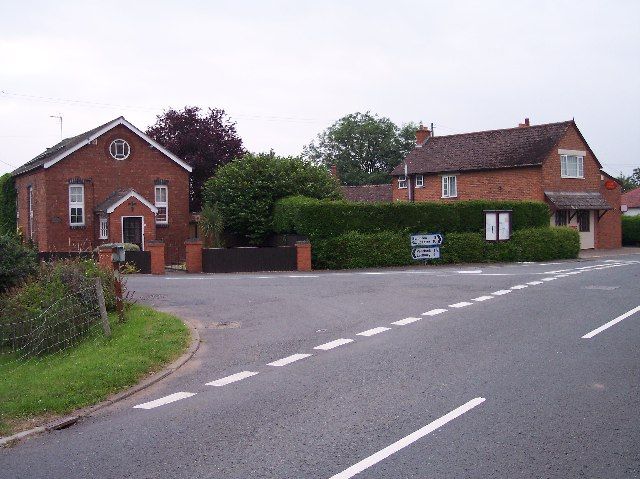 Playley Green Post Office and old Chapel