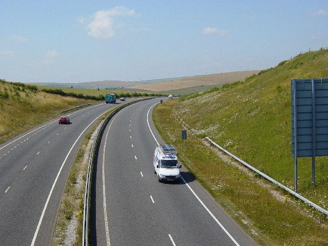 A27 Road Cutting