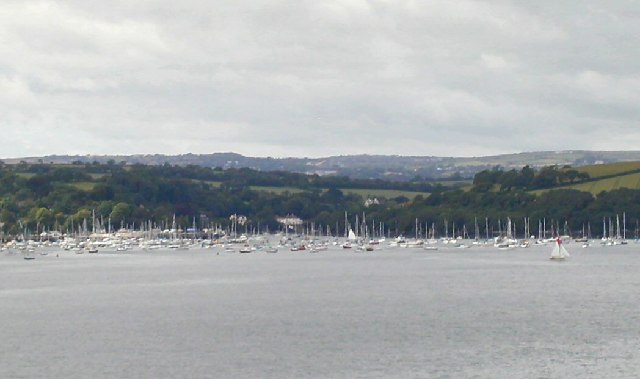 Boats at Mylor Churchtown