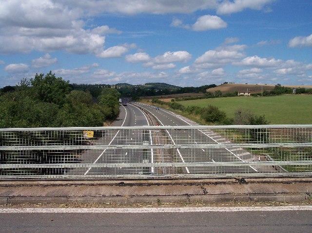 M50 from the Ryton Bridge