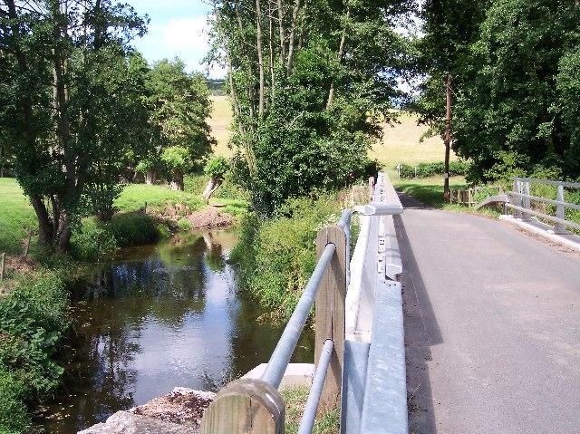 The River Leadon at Ketford