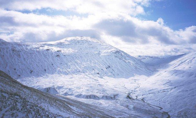 On the south ridge of Beinn a' Chaisteil