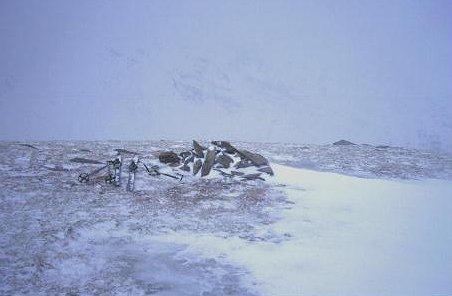Summit of Beinn a' Chaisteil.