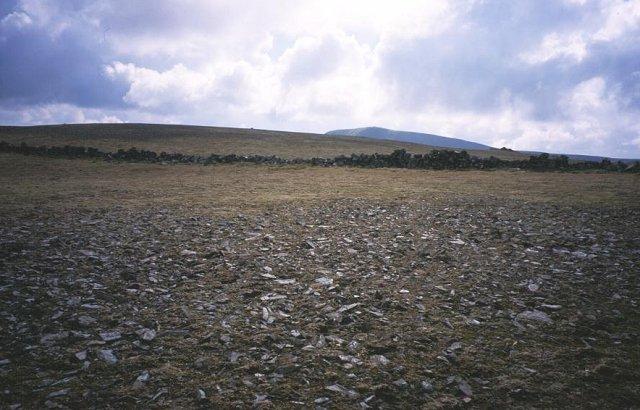 Summit of Kirrireoch Hill