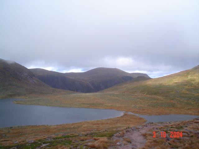Loch Etchachan and Little Loch Etchachan