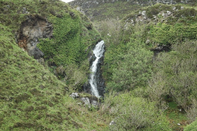 Waterfall on Ross of Mull