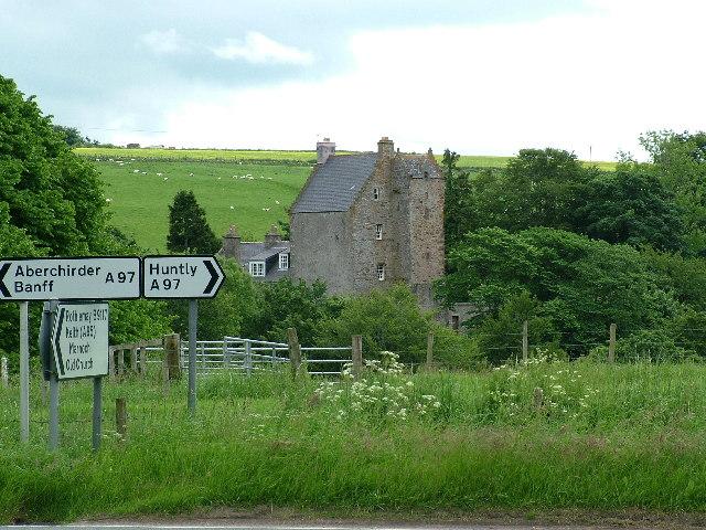 Kinnairdy Castle