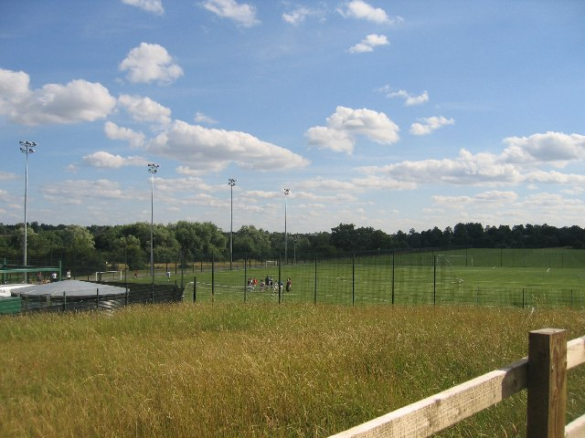 Grounds at Alan Higgs sports centre