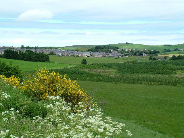 View of Aberchirder from turnout