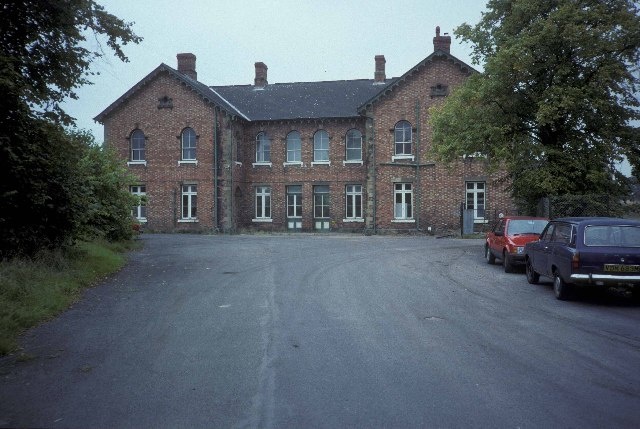 The old railway station at Ellesmere