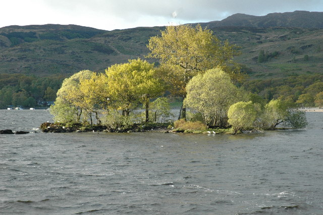 Island in Loch Lomond