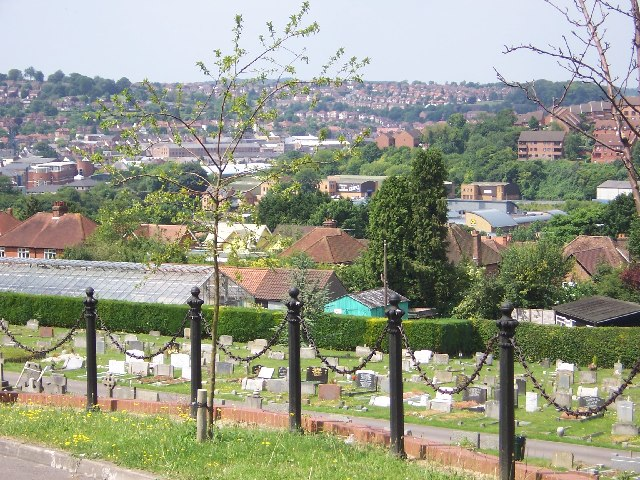 View from High Wycombe Cemetery