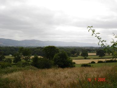 Farmland at Cefn Meiriadog